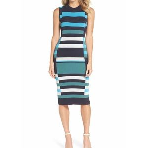 🌟Brand New🌟 Vince Camuto Striped Sweater Dress